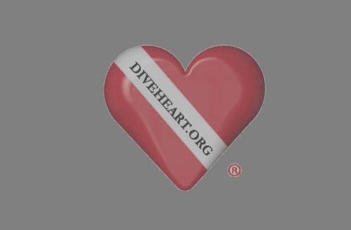 Diveheart post logo