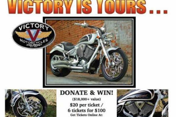 """Victory is Yours"" Motorcycle Giveaway"