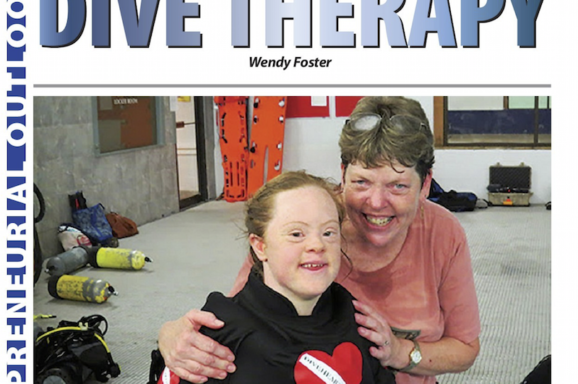 Diveheart's Dive Therapy (Out Front Magazine)