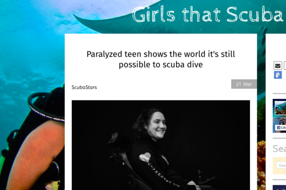 diveheart scuba girls