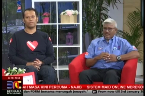 Diveheart Malaysia: In the News on Bernama News Channel