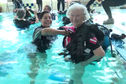 diveheart seniors training