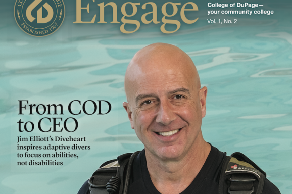Engage Mag: COD Alumnus Jim Elliott, CEO of Diveheart
