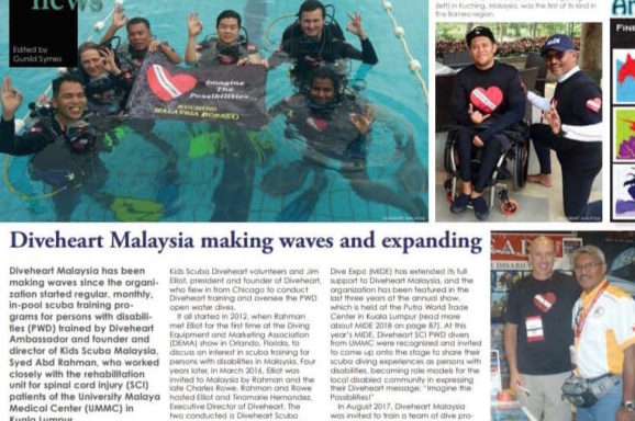 X-Ray Mag: Diveheart Malaysia Making Waves and Expanding
