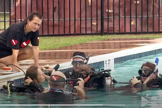 Diveheart Texas: Adaptive program helps people with disabilities learn to scuba dive