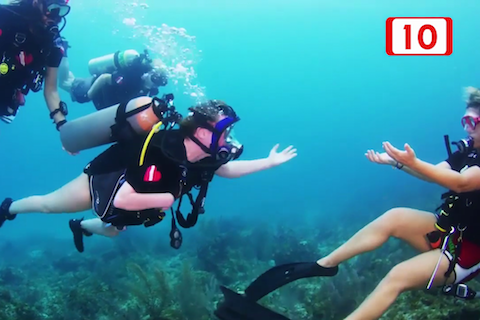 Cozumel, Mexico: Channel 10 TV Cozumel Talks to Diveheart About Adaptive Scuba Training