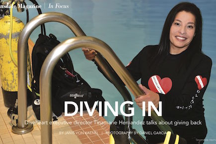 Diving In: Diveheart's Tina Hernandez talks about giving back